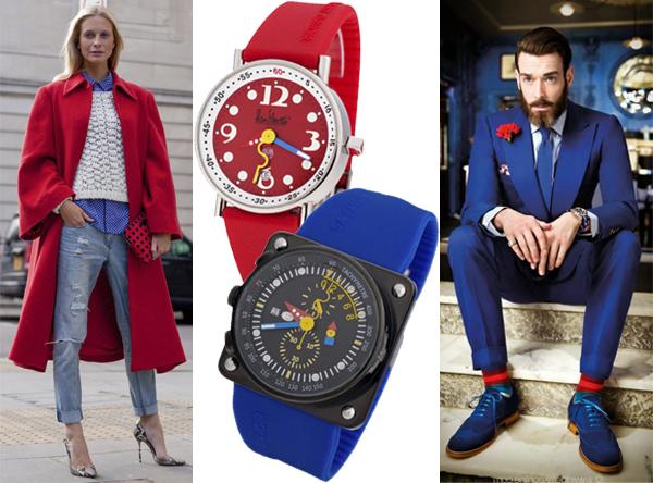 Мужские и женские часы Алан Зильберштайн