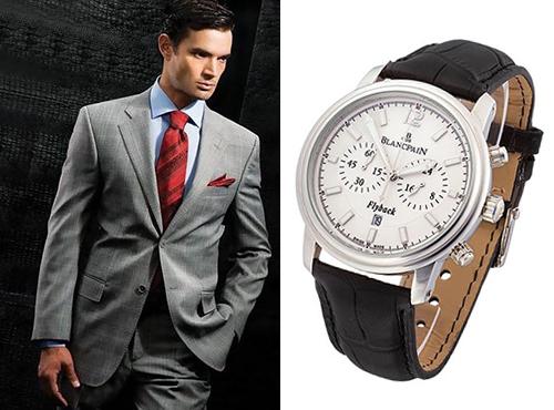 мужские часы Бланпа