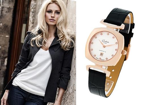 женские часы  Glashutte