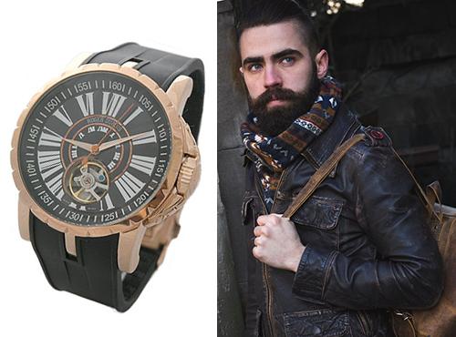 копии мужских часов Роджер Дюбуа