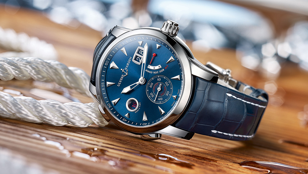 Ulysse nardin maxi marine chronograph replica watch.