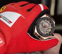 Хронометр Techframe Ferrari 70 Years Tourbillon Chronograph
