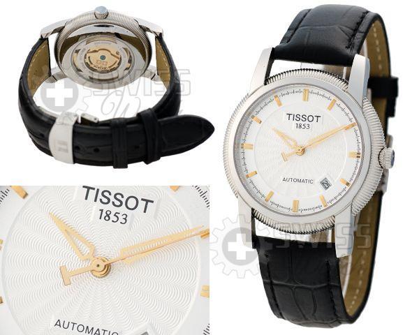 Часы Tissot с золотыми делениями