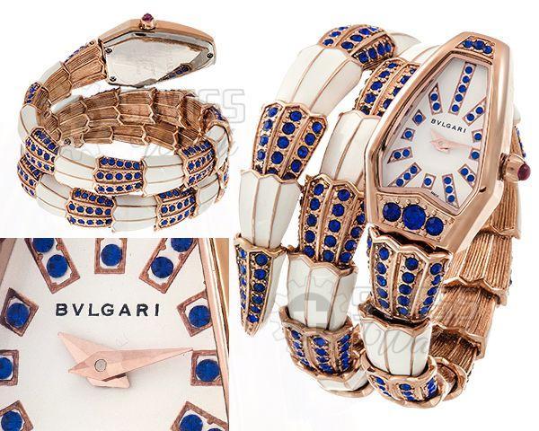 Жіночі наручні годинники Снейк бренду Bvlgari (Булгарі)