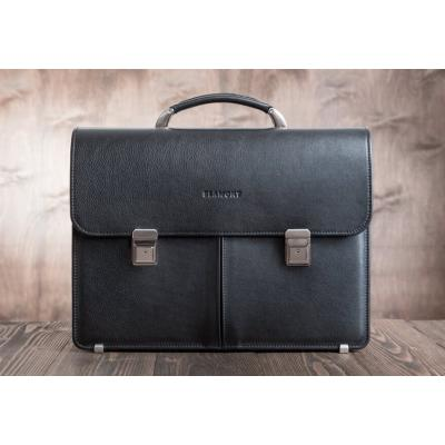 Мужской кожаный портфель Blamont Bn063A