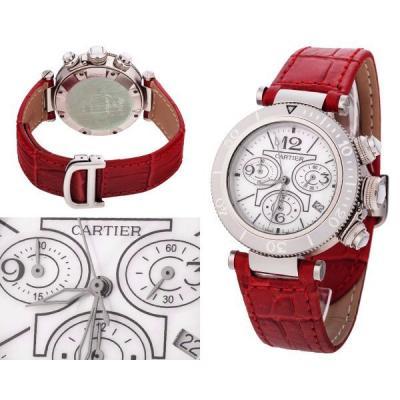 Часы  CartierPasha Seatimer Chronograph Lady №MX2246