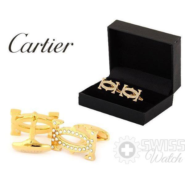 Запонки Cartier модель №437