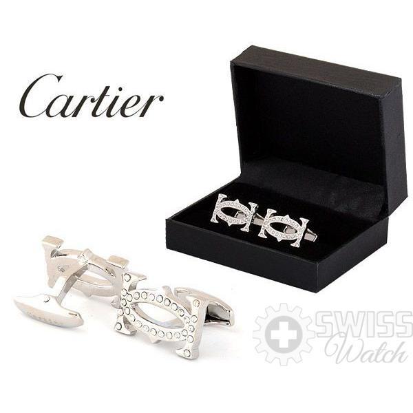 Запонки Cartier модель №436