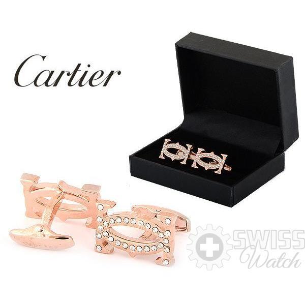 Запонки Cartier модель №438