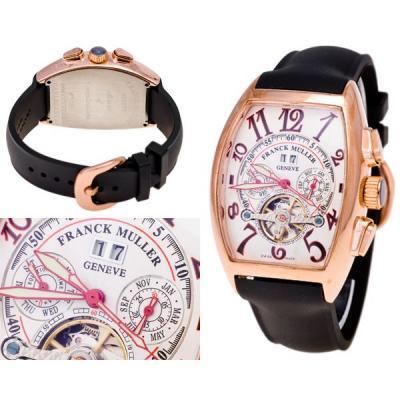Часы  Franck Muller Cintree Curvex Cronograph №MX0919