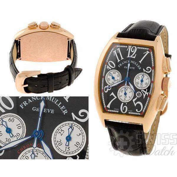 Часы  Franck Muller Cintree Curvex Cronograp №M4469