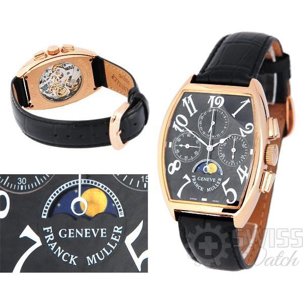 Часы  Franck Muller Cintree Curvex Cronograph №M3337