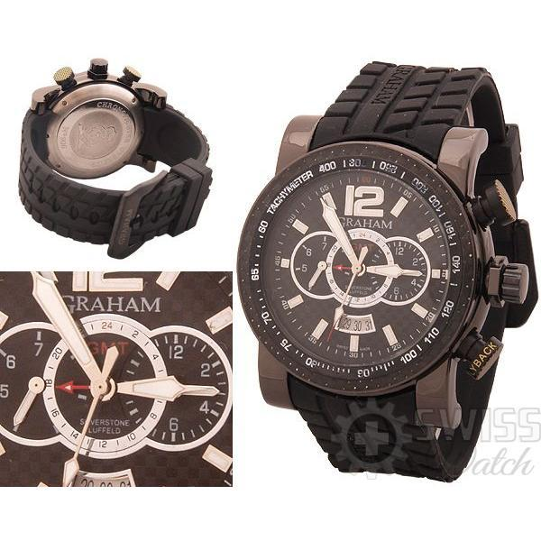 Часы  Graham Chronofighter GMT №MX0349