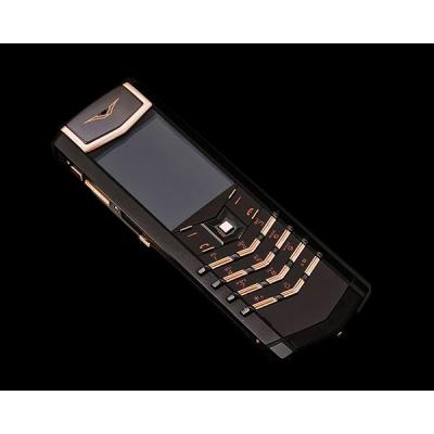 Телефон Vertu Signature S Design Pure Black Red Gold