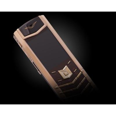 Телефон Vertu Signature S Design Chocolate Red Gold