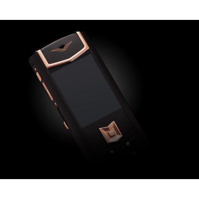 Телефон Vertu Signature S Design DLC Red Gold Black Leather