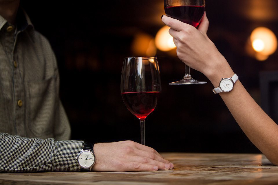 Брендовые наручные часы для влюбленных