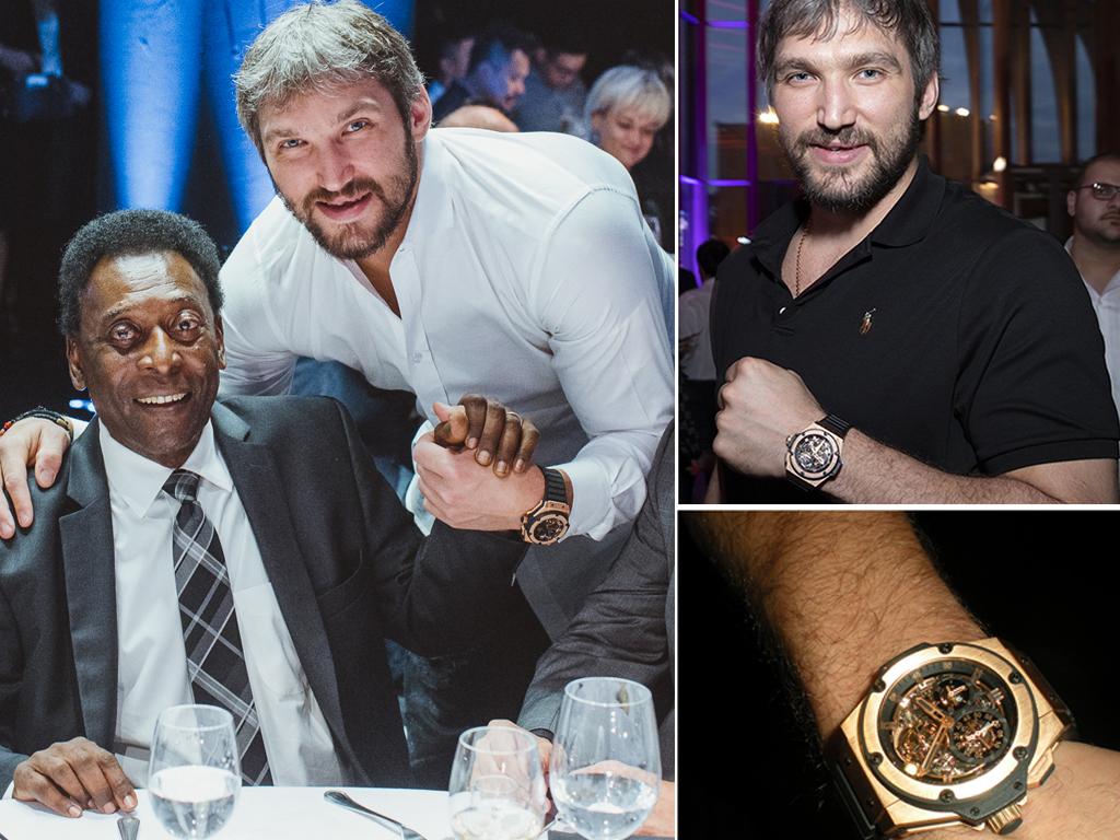 Овечкін та його годинник Hublot Tourbillon
