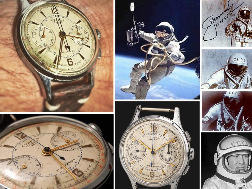 """Годинник """"Стріла"""", що кріпився на рукав скафандра, разом з Олексієм Леоновим першим вийшов у відкритий космос"""