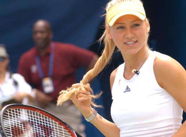 Тенісистка і модель Анна Курнікова