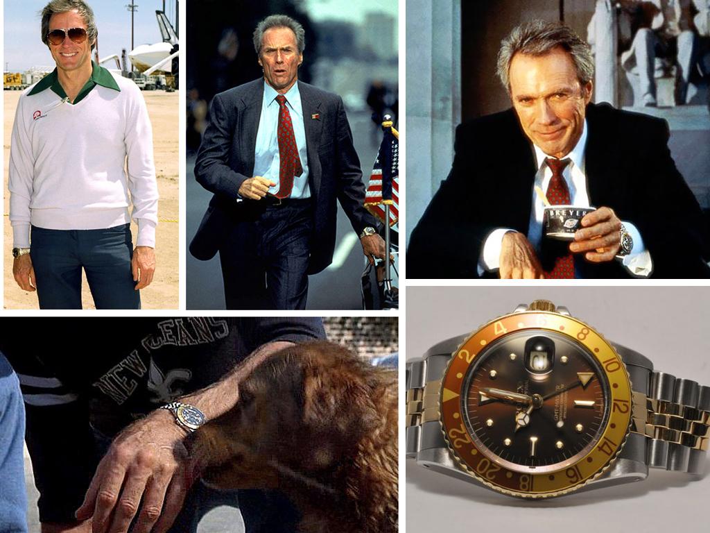 Клінт Іствуд і його улюблена модель Rolex Root Beer GMT-Master