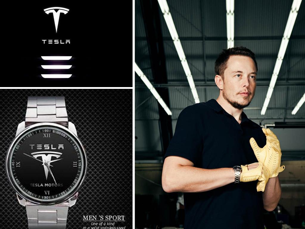 Годинник Ілона Маска Tesla