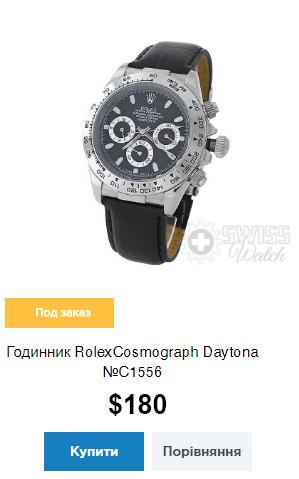 Годинник RolexCosmograph Daytona