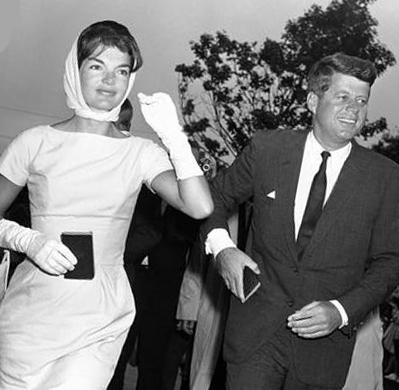 Жаклін і Джон Кеннеді
