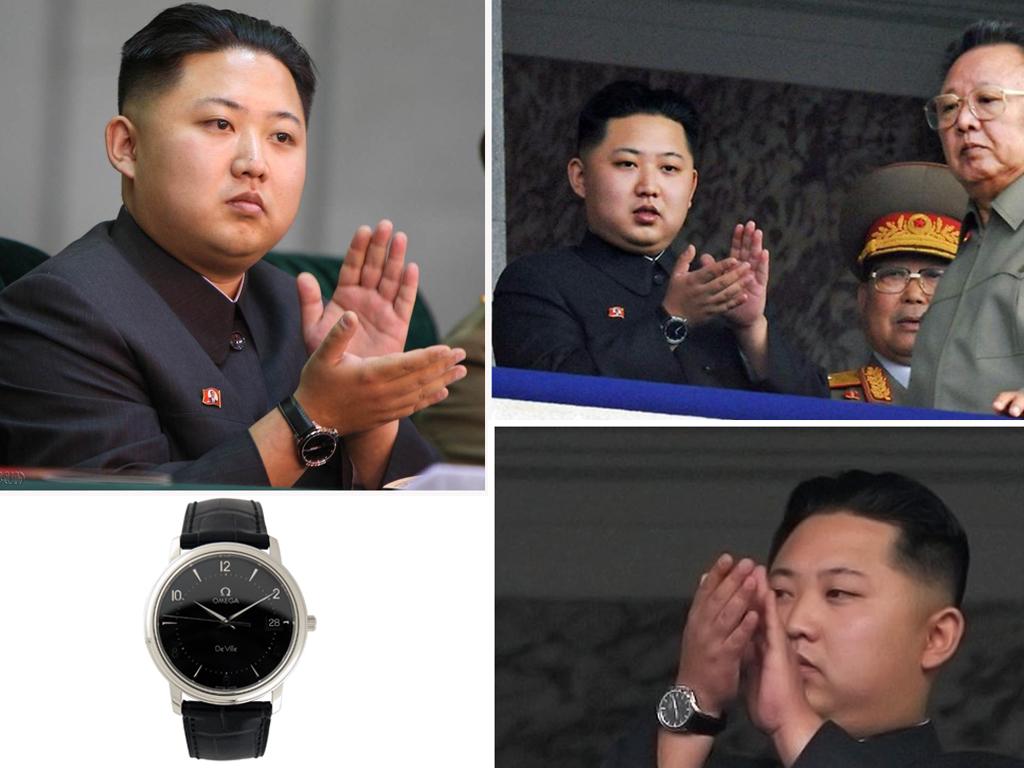 Кім Чен Ин в годиннику Омега