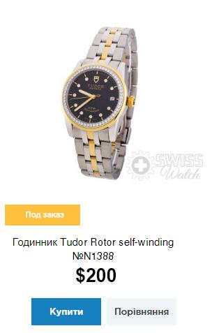 Годинник Tudor