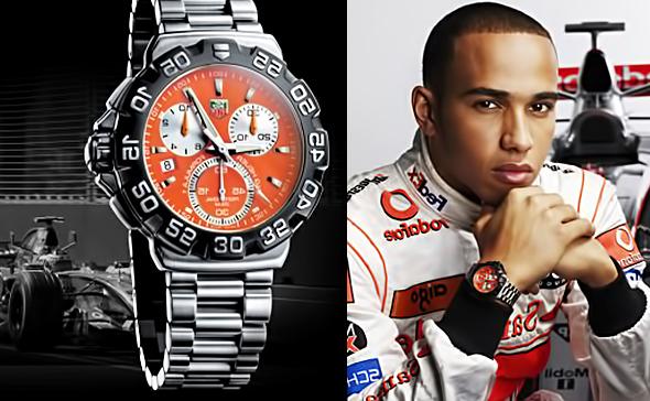 Годинник Льюїса Хемільтона з колекції Tag Heuer Formula 1