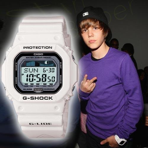 Наручний годинник Джастіна Бібера Casio G-SHOCK GLX-5600-7E