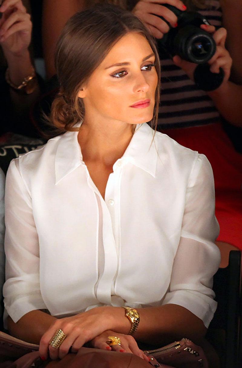 Наручний годинник Олівії Палермо Rolex Lady Datejust President