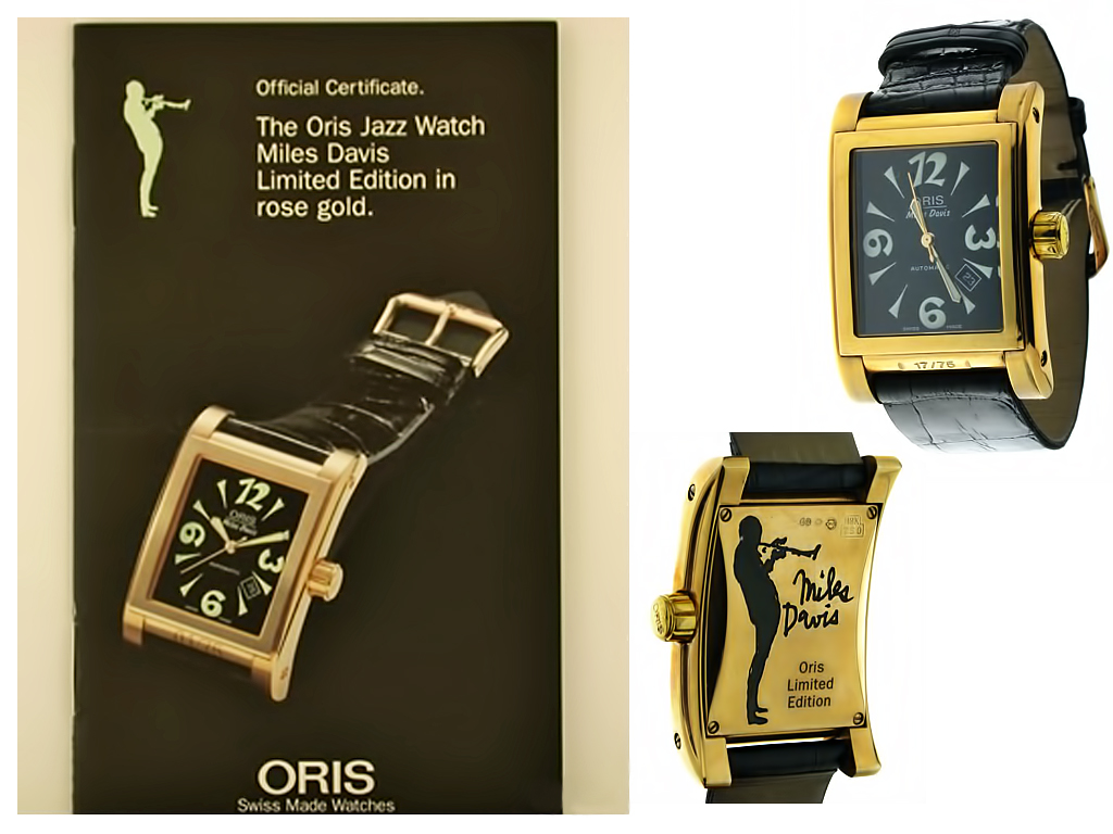 Годинник Oris Jazz watch Miles Davis Limited Edition