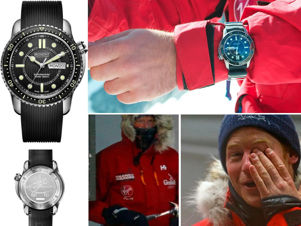 Принц Гаррі і його годинник Bremont Supermarine S500