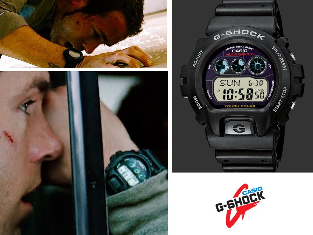 У фільмі Safe House Райан Рейнольдс стріляє і б'ється в годиннику Casio G-Shock