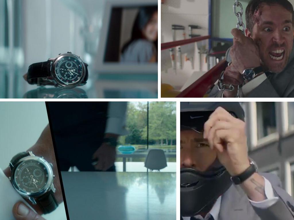 "ГодинникРайана Рейнольдса Patek Philippe в фільмі ""Охоронець кілера"""