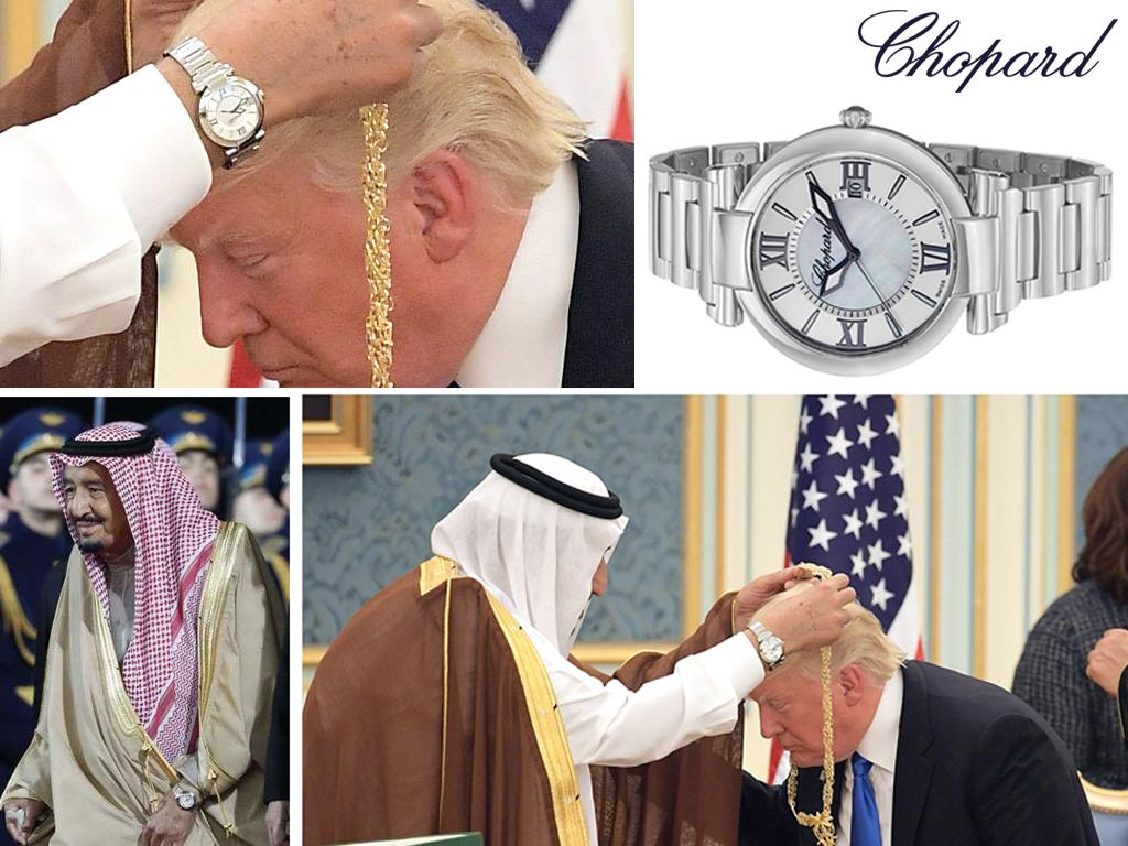 Салман ібн Абдул-Азіз Аль Сауд в годиннику Chopard Імперіалі