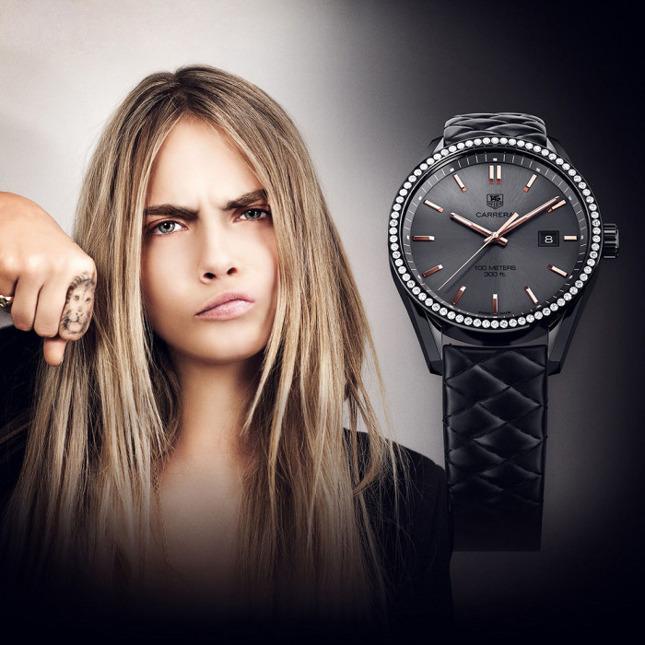 Tag Heuer Carrera Quartz Cara Delevingne Women's Watch