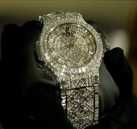 «The $ 5 Million Watch by Hublot» реппера Jay-Z