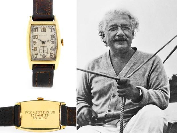 Золотий годинник Альберта Ейнштейна від Longines
