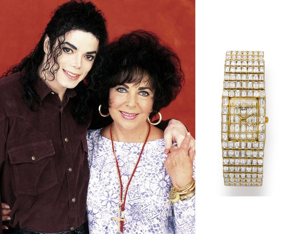 Золотий годинник Елізабет Тейлор Vacheron Constantin Lord Kalla з діамантами