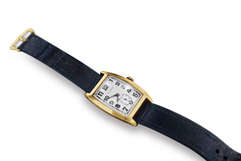 Золотий наручний годинник Longines Альберта Енштейна, проданий з аукціону в 2008 році