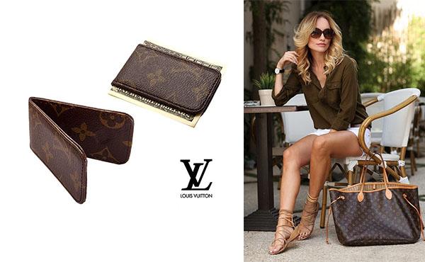 Зажим для денег Louis Vuitton