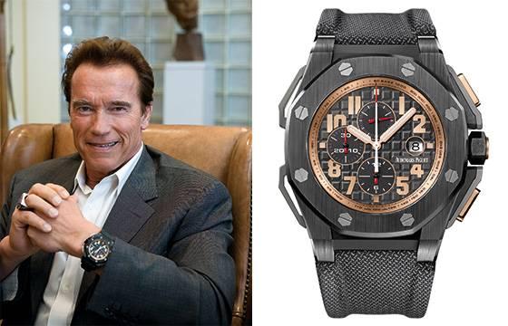Шварц рекомендует часы бренда Audemars Pigue