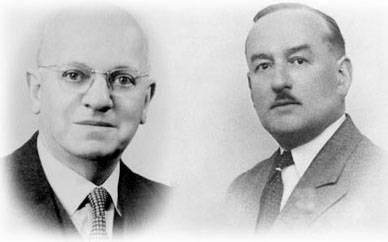 Братья Бом - основатели компании Baume & Mercier