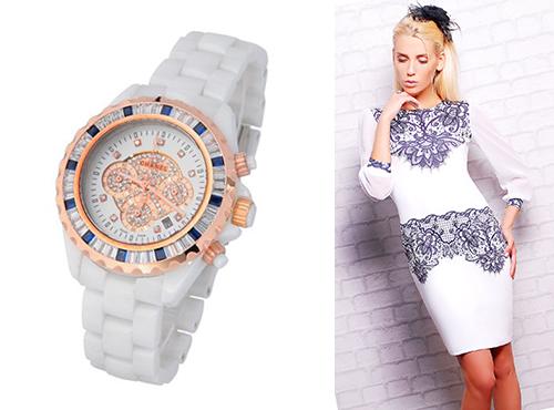 Брендовые наручные часы Chanel