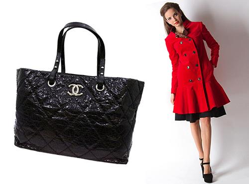 женская сумка шанель