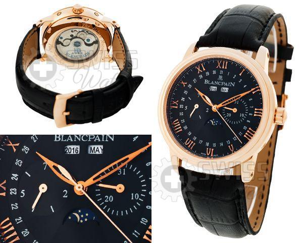 Швейцарские наручные часы бренда Blancpain