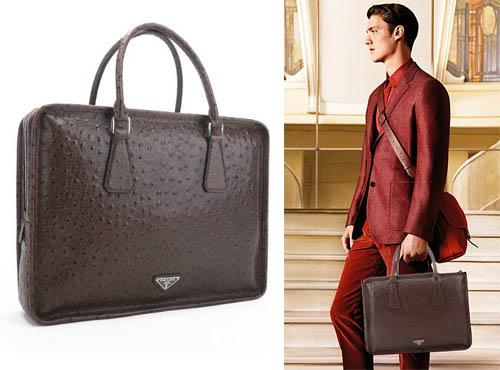 Мужская сумка Прада